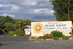 turners beach tasmania caravan park accommodation. Black Bedroom Furniture Sets. Home Design Ideas