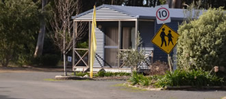 Mile Beach Caravan Park Tasmania
